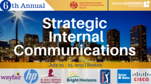 6th Annual Strategic Internal Communications Conference @ Hyatt Regency Boston